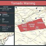 Image for the Tweet beginning: Tornado Warning including Lindenwold NJ,