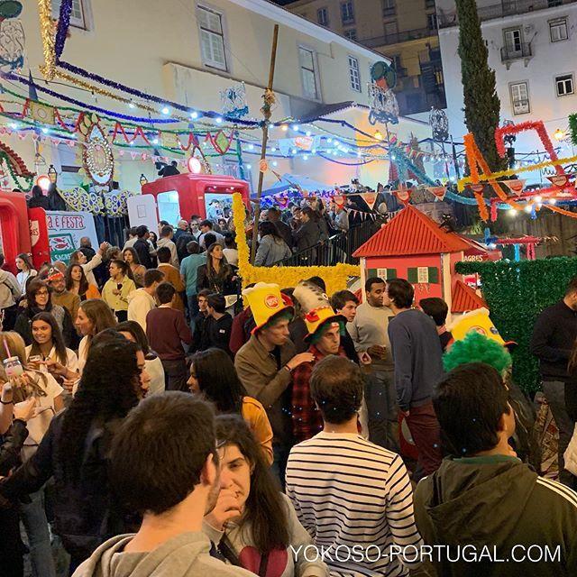 test ツイッターメディア - 昨日行われた聖アントニオ祭り。リスボンが一番熱く盛り上がる日です。 #リスボン #ポルトガル https://t.co/kJhEmmUJYv