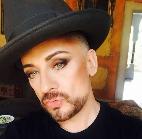 Happy birthday, boy george. Thank you for making me so happy.   Greetings from Argentina