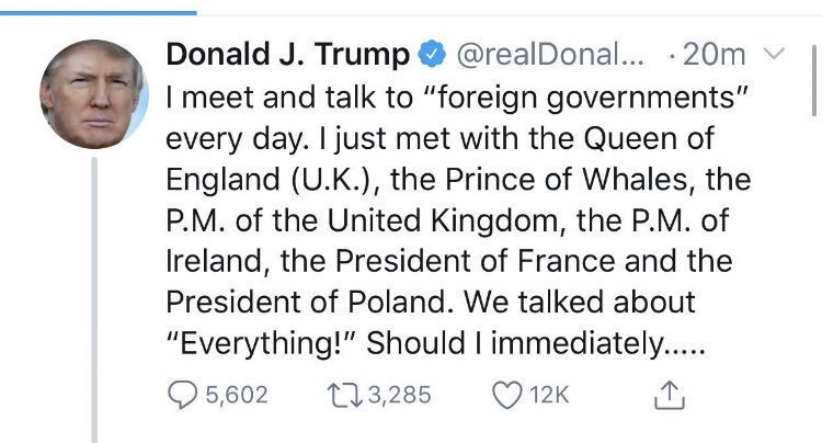 America, you have my sympathy. Your 'President' truly is a moron. #PrinceOfWhales <br>http://pic.twitter.com/A4gQacUI4G