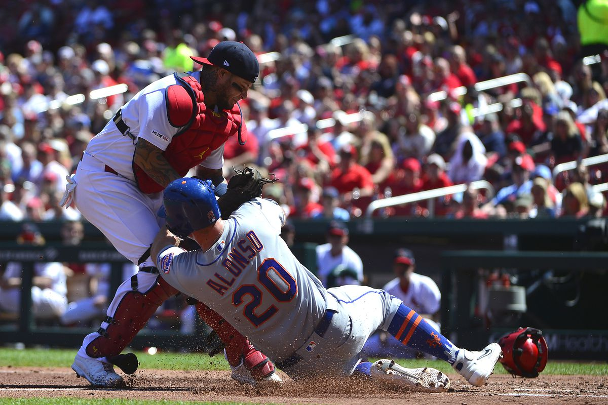St. Louis & NY Mets meet in game 1-of-4 game set in MLB action from Citi Field.The Cardinals will look to rebound after dropping their series finale vs Miami.The Mets will look to build some steam after earning a doubleheader split with the Yankees https://t.co/vCcnUedOfc https://t.co/nOCeSe5Bx1