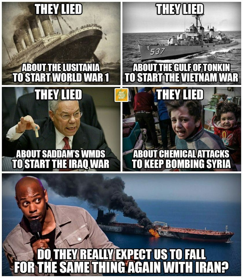 rt if you agree no war with Iran