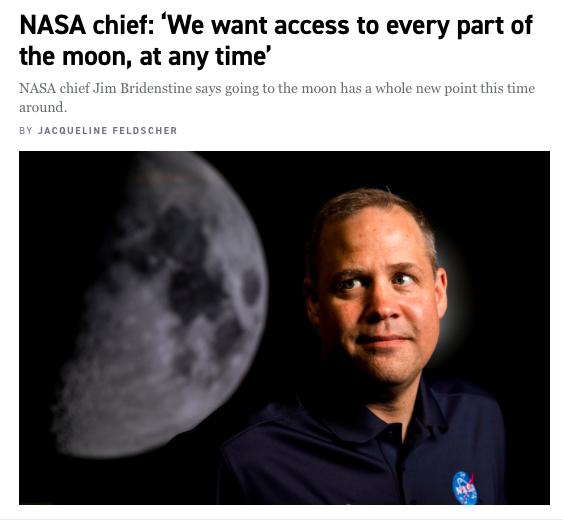 ... is... is NASA gonna fuck the moon
