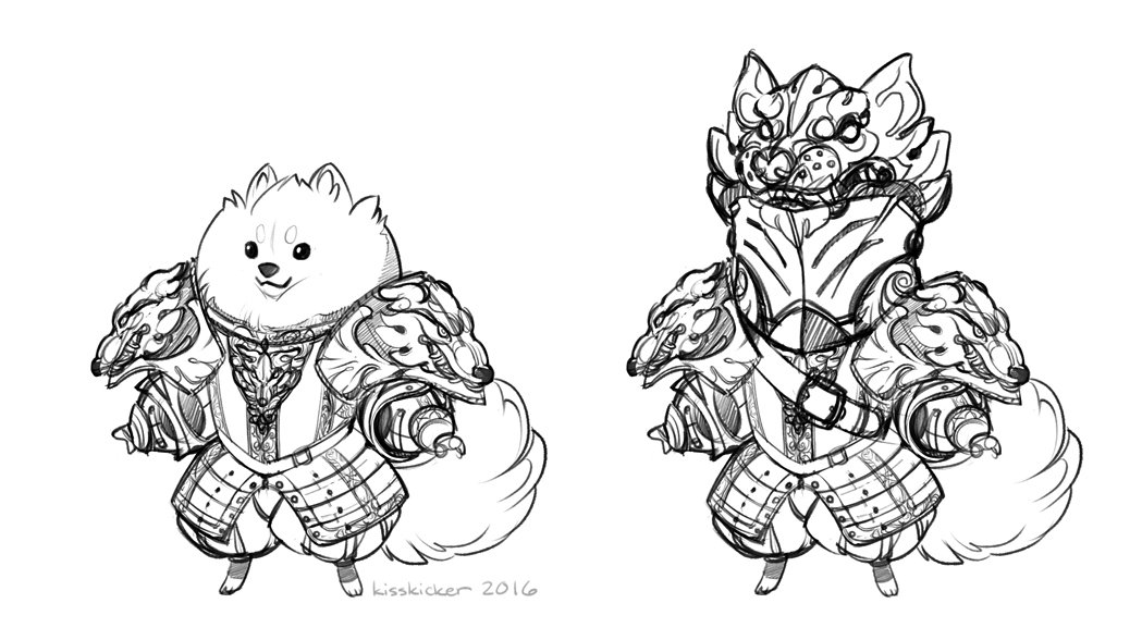 thinkin bout animals in armor again