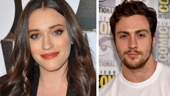 HAPPY BIRTHDAY  Kat Dennings (big crush)  and  Aaron Taylor-Johnson (Kick-Ass)
