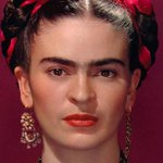 Image for the Tweet beginning: Only recording of Frida Kahlo's