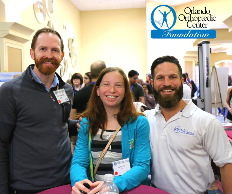 CEUs for allied healthcare professionals? We've got you covered. Register now for the 2019 15th Annual Orthopaedic Update for Allied Healthcare Professions: https://www.orlandoortho.com/seminar/