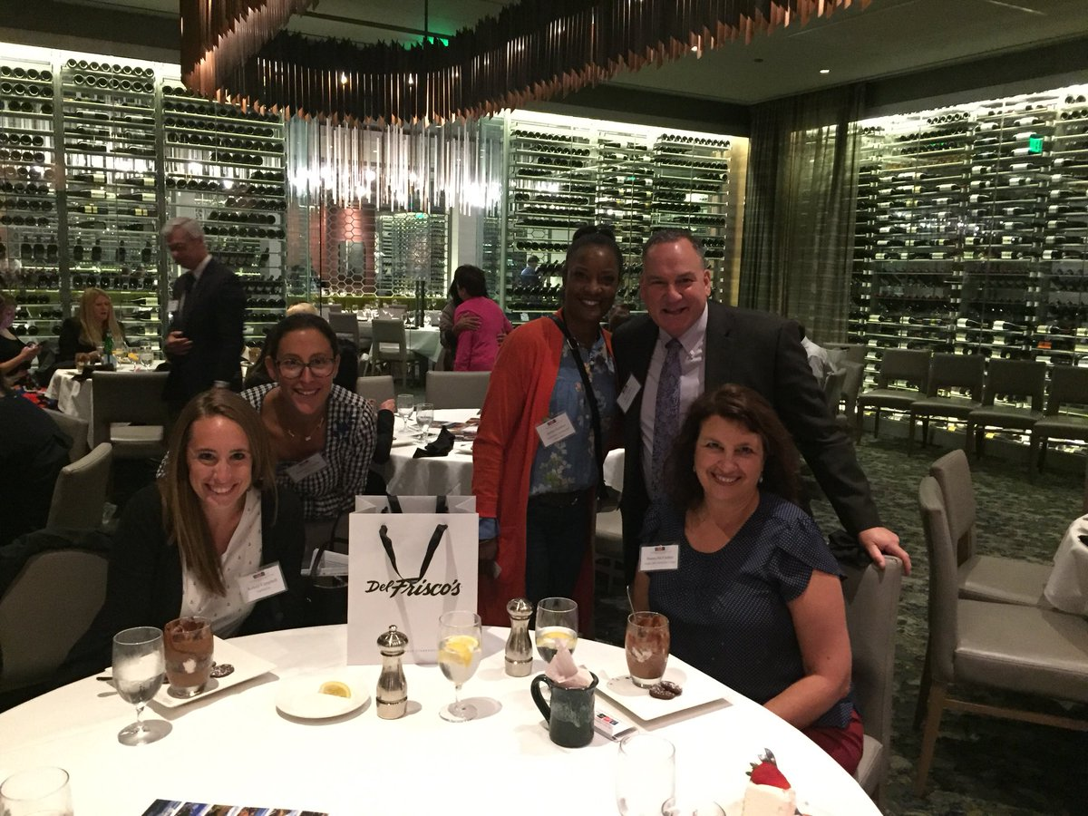 @ctmeetings joins @NESCVB for another great Boston based Planners lunch @DelFriscos http://buff.ly/2X9tSjg    #nescvb #delamarwesthartford #thespaatnorwichinn #logmein #bunkerhillcc #smithsonianastrophysicalobservatory #newenglandmuseumassociation #educationdevelopmentpic.twitter.com/ma1vn4mS8t