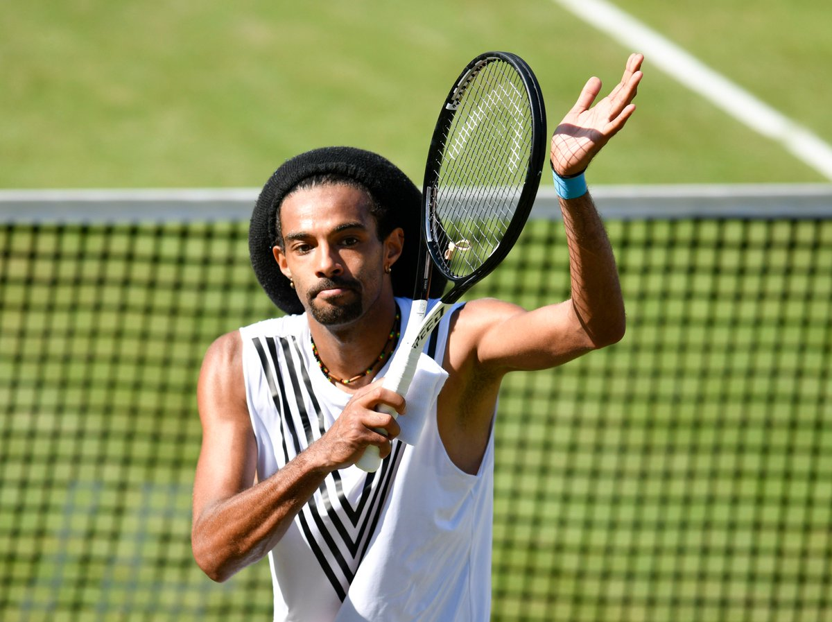 """The last few years have been a bit up and down with injuries... I stayed cool, tried to play deep and am happy to have won it.""  @DreddyTennis is back 👉 http://bit.ly/31vgwNr"