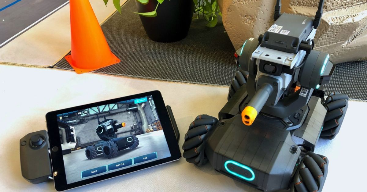DJI's first educational robot is a $500 drone tank for kids engt.co/2I92jhu