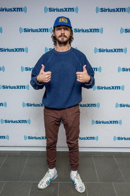 Happy 33rd birthday to Shia LaBeouf, normcore king.  -->