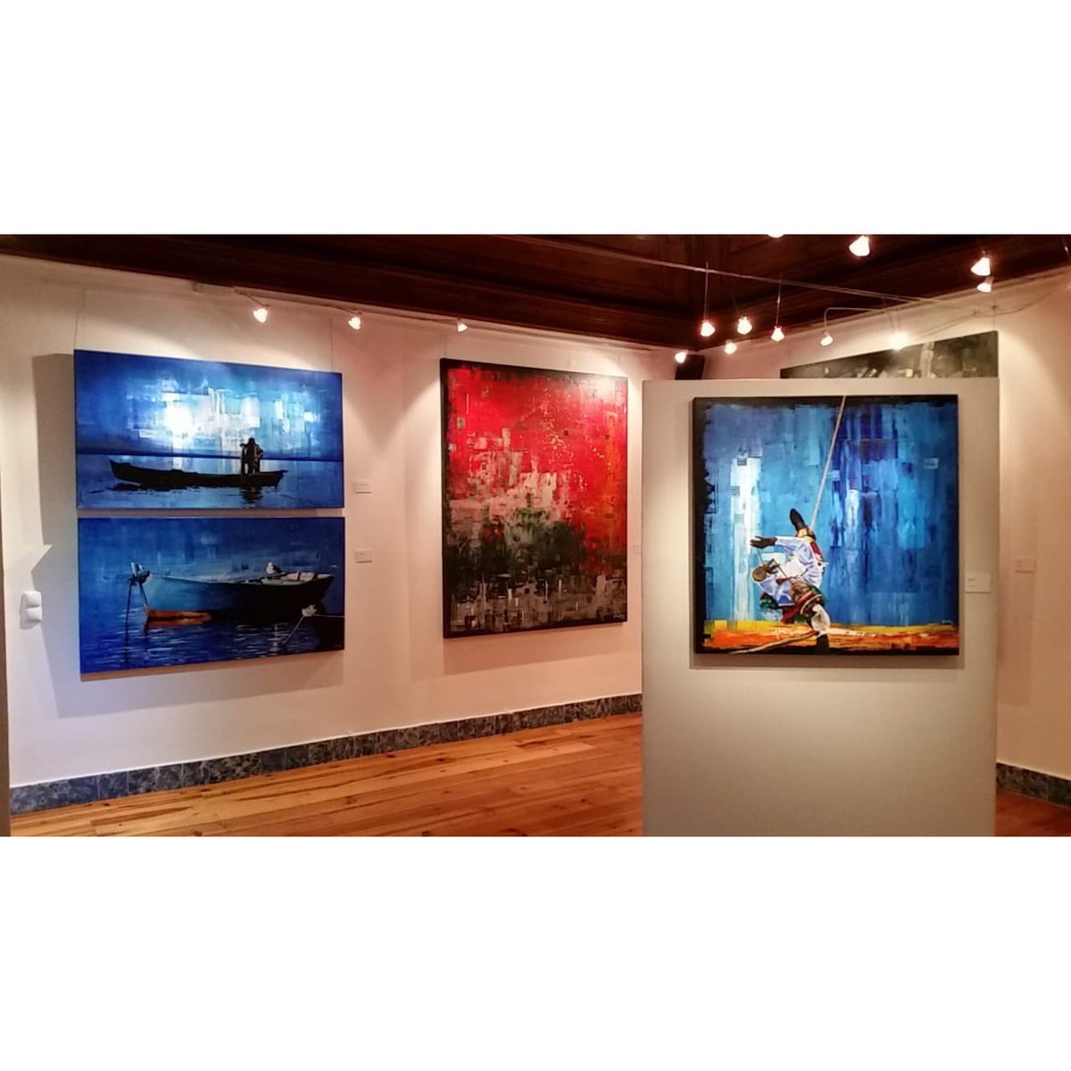 Hace 5 años, mi exposición Energía y Transformación, en la Embajada de México en Lisboa, Portugal. / EXPOSICIÓN. / #pedrotrueba #pintura #arte #Expo #Lisbon #Portugal #mexicano #exposición #galería