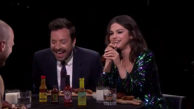 Jimmy eats wings so hot that he barks like a dog!