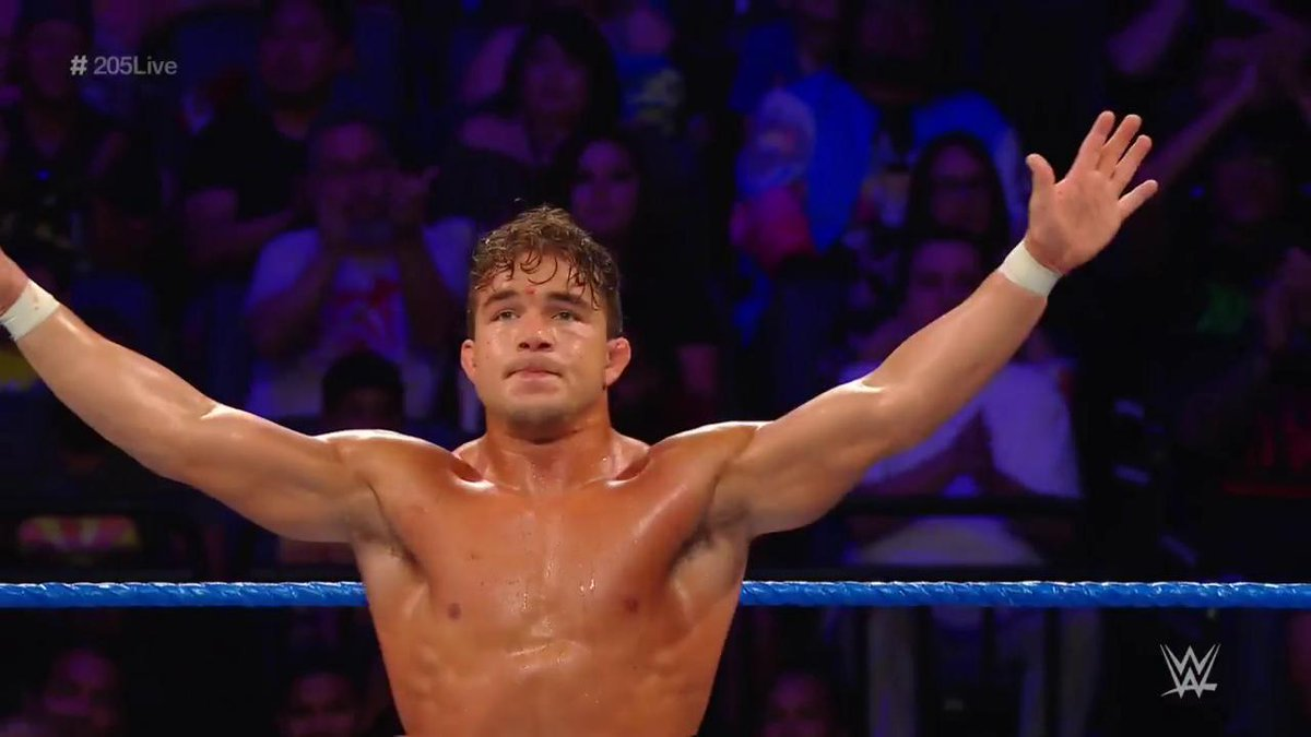 Chad Gable Debuts On WWE 205 Live As The Surprise From General Manager Drake Maverick (Photo, Video)