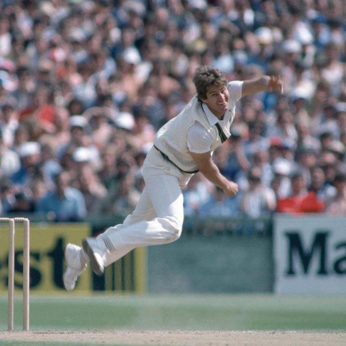 170 Test wickets @ 27.15 88 ODI wickets @ 23.36 Happy birthday to Australia\s Terry Alderman!