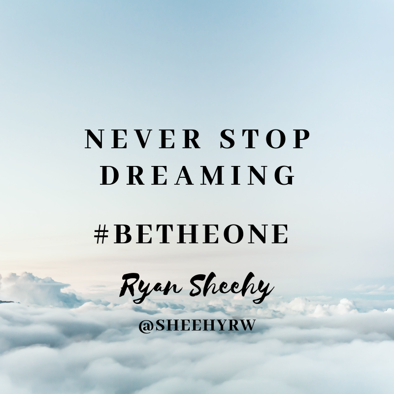 Never Stop Dreaming! #BeTheOne #Tlap #LeadLAP #PrincipalsInAction