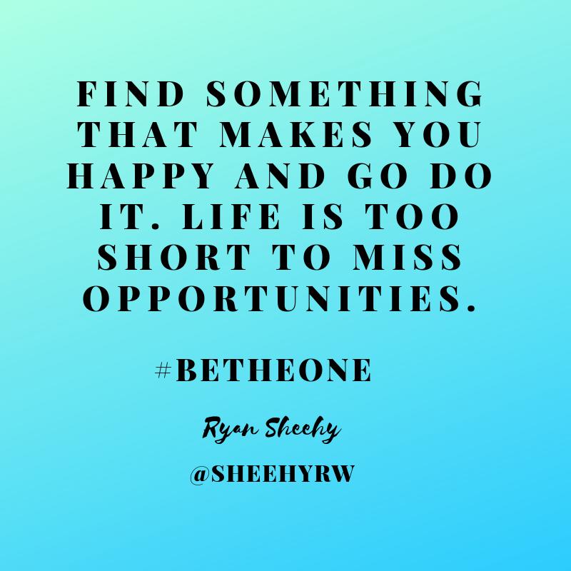 Be Happy! #BeTheOne