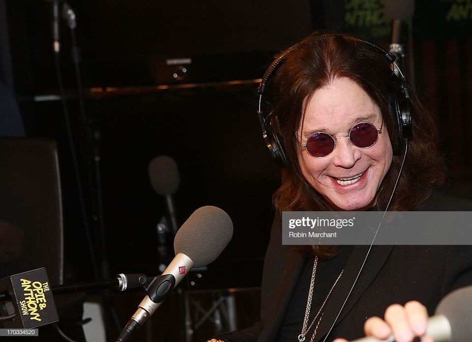 June 11, 2013 at @SiriusXM in NYC on the Opie & Anthony Show