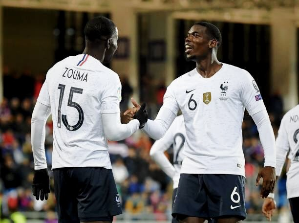 Celle là  last game of the season we finish well .. time to relax 🤙🏾.. congratulations to my brother @KurtZouma for his first goal 🙏🏾 @equipedefrance #fiersdetrebleus #ANDFRA