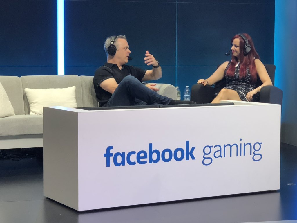 Pete Hines talking all things #BE3 on @FacebookGaming live now!