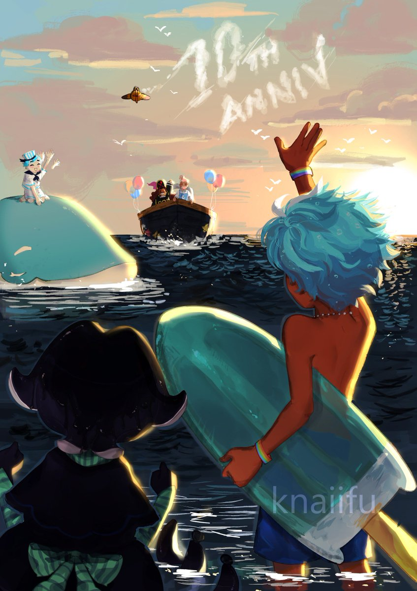 happy 10th anniversary #cookierun ! here's my piece for the #CRFanArtBook   #GingerBrave10th  <br>http://pic.twitter.com/K0uFK7dpz2
