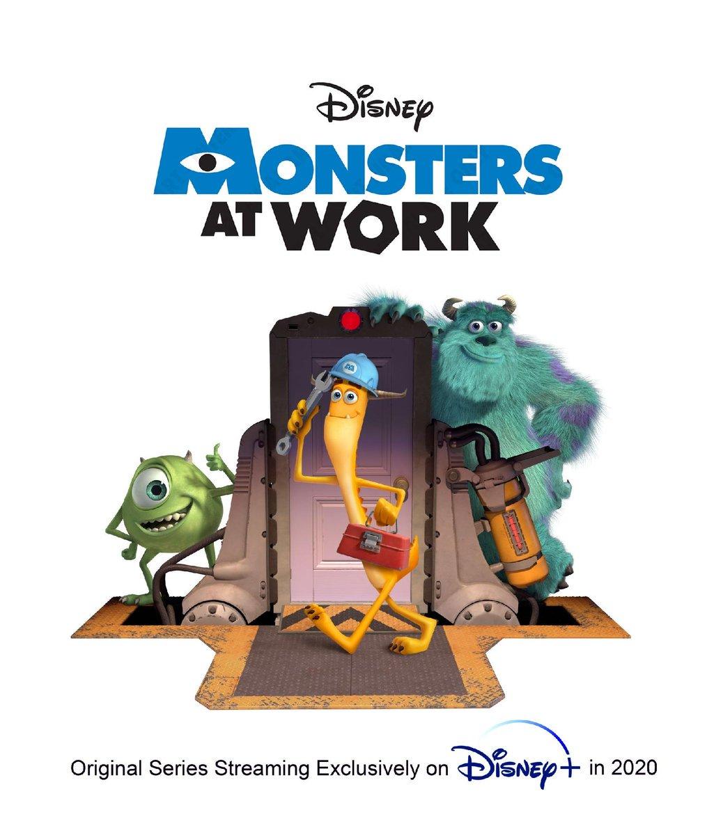 """RECinefilia a Twitter: """"Preparados? Monstros ao Trabalho é a série do  Disney + sobre os monstros s.a… """""""