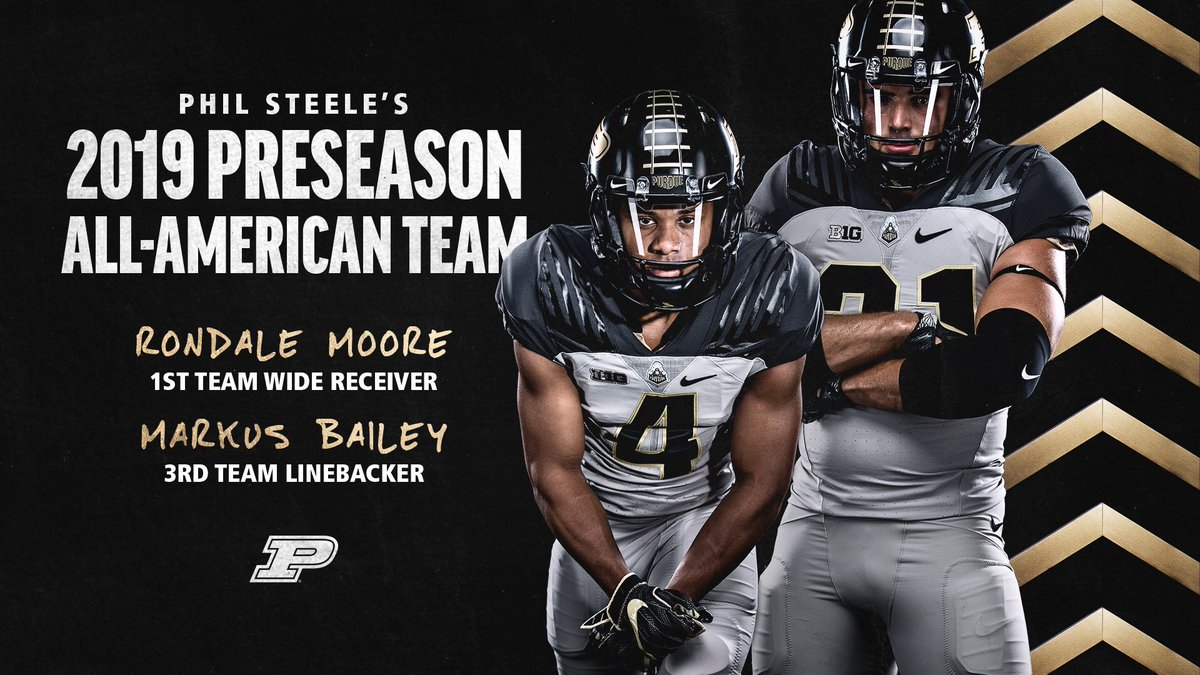 Preseason All-America recognition for @moore_rondale and @mb_boiler21   🔥🔥🔥  #BoilerUp #LetsPlayFootball