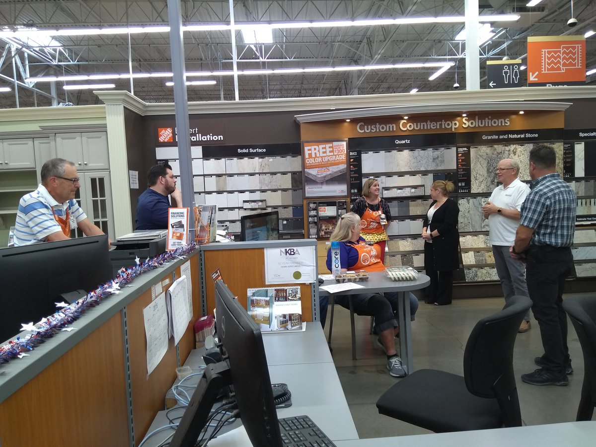 A big thanks to Daltile and Precision Countertops for coming out and training our associates about their product for Specialty Tuesday! You guys rock! @geri4015 @dawnlynnhudson1<br>http://pic.twitter.com/zoGhWiRxgk