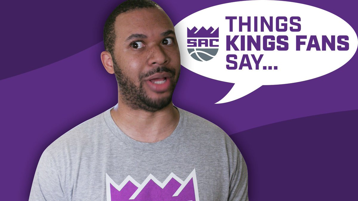 How many of these have you said, Kings fans? 👑  🤣 | @scootermagruder