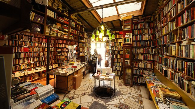 When I die I'll know I've gone to heaven if I wake up in a used book store.