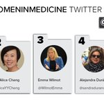 Image for the Tweet beginning: #ADA2019 Top #WomeninMedicine Twitter Influencers...