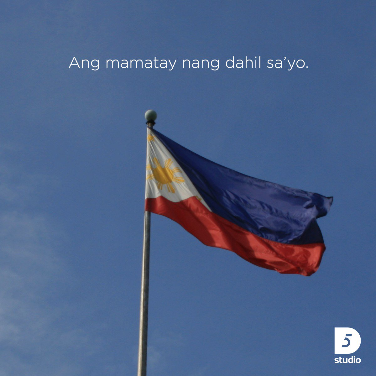 To our martyrs, here is our salute.  Happy Independence Day. 🇵🇭