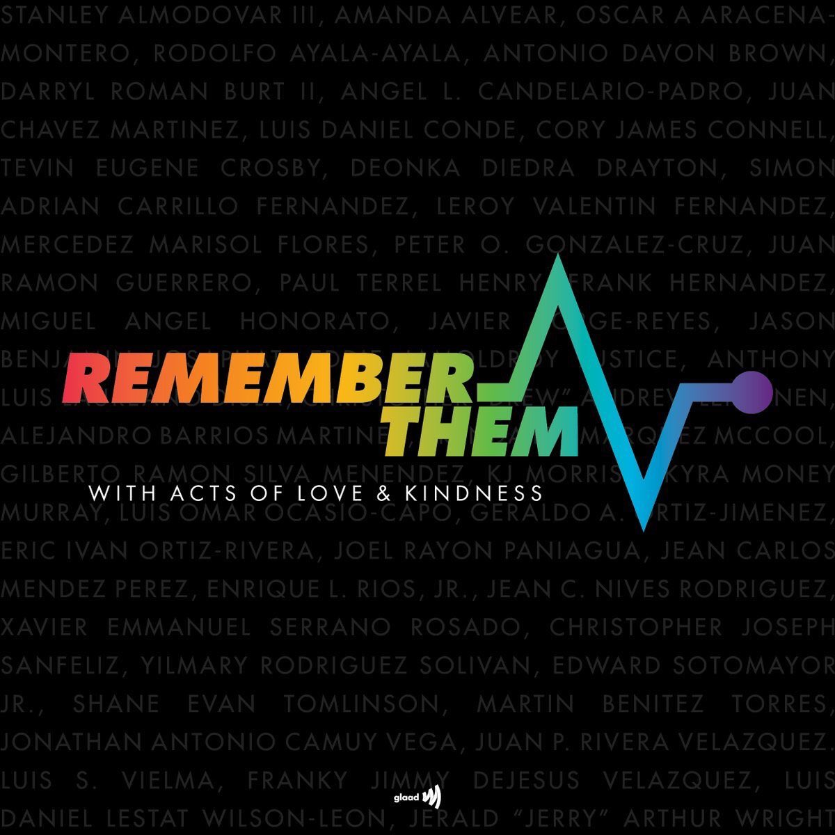 It's been 3 years since the the #Pulse shooting. It was the deadliest attack on the LGBTQ+ and queer Latin community in recent history. A stark reminder that repression and hatred are still very prevalent in society today. We won't forget their names. R.I.P. 🏳️‍🌈#OrlandoUnited