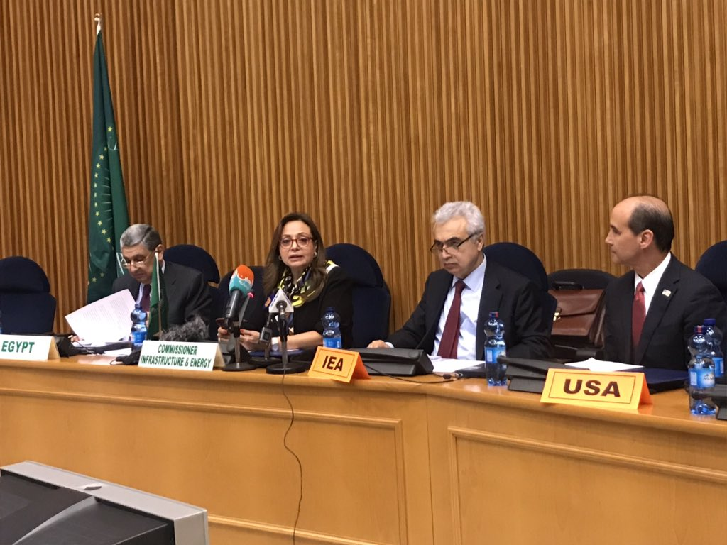 @au_ied and @IEA convene stakeholders in #Ethiopia at the headquarters of the @_AfricanUnion to dialogue on Africa's energy future and the critical role that both sides play in securing that future @HEDrAbouZeid @IEABirol