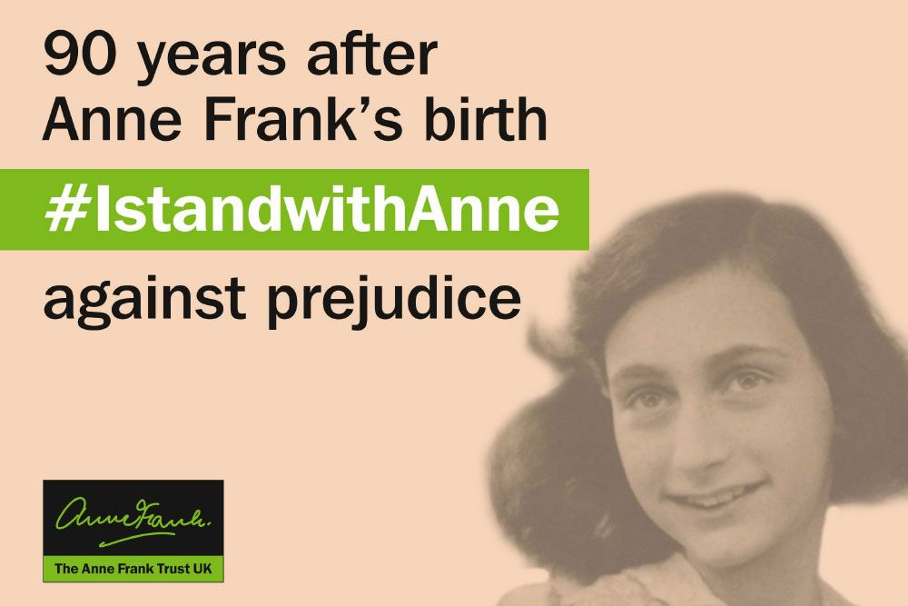 'I can shake off everything as I write; my sorrows disappear, my courage is reborn.' ― Anne Frank, #BOTD in 1929.    Remembering Anne's life and legacy on what would have been her 90th birthday with the @AnneFrankTrust.   #Anne90 #IstandwithAnne <br>http://pic.twitter.com/irQpEKnUsp