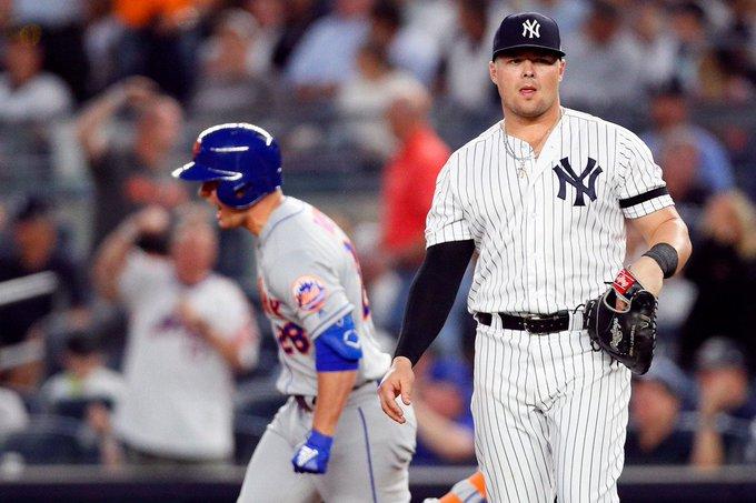 Yankees-Mets split Tuesday doubleheader in Bronx