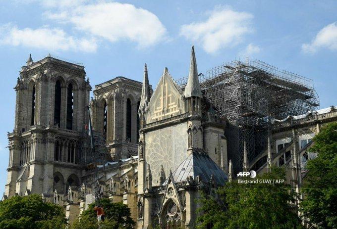 Notre Dame celebrará este sábado su primera misa tras el incendio del pasado #15Abr, informó la diócesis de París. https://t.co/ev2xYISb4i