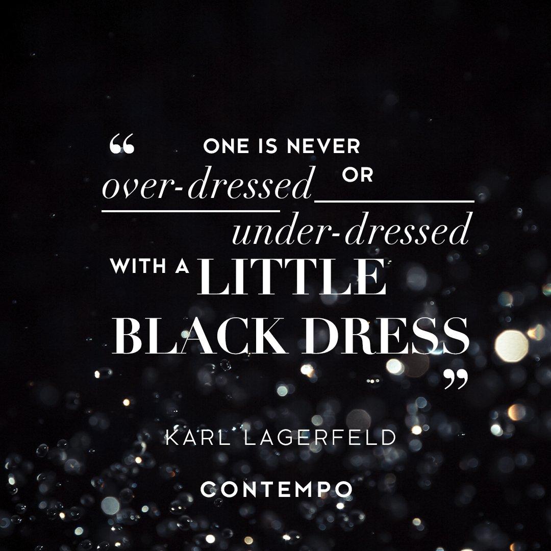 Little black dress > everything 🙌🙌#WisdomWednesday