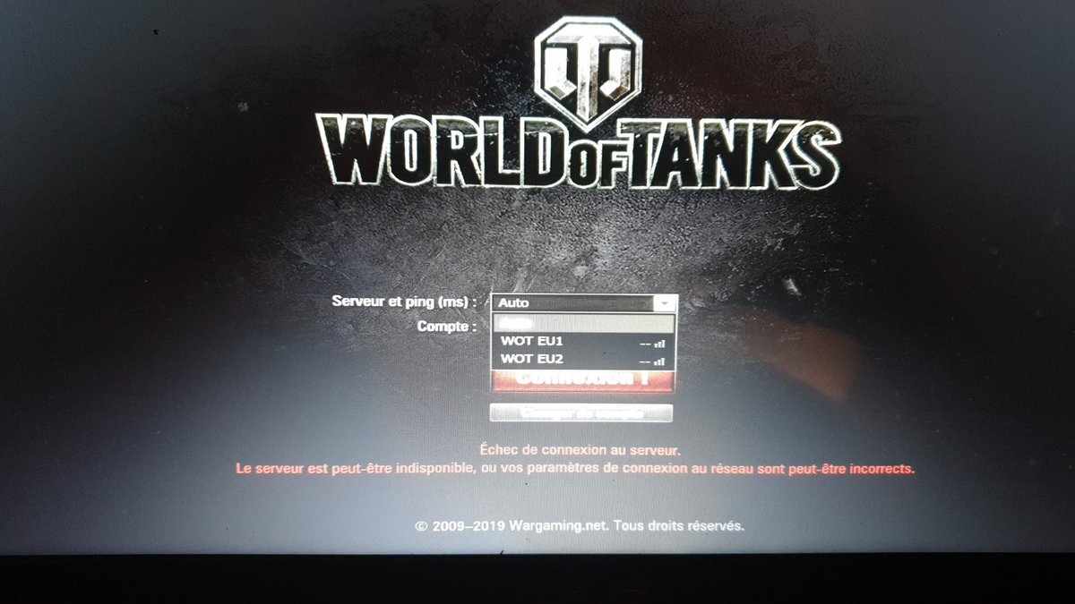 World of Tanks Down? Service Status, Map, Problems History