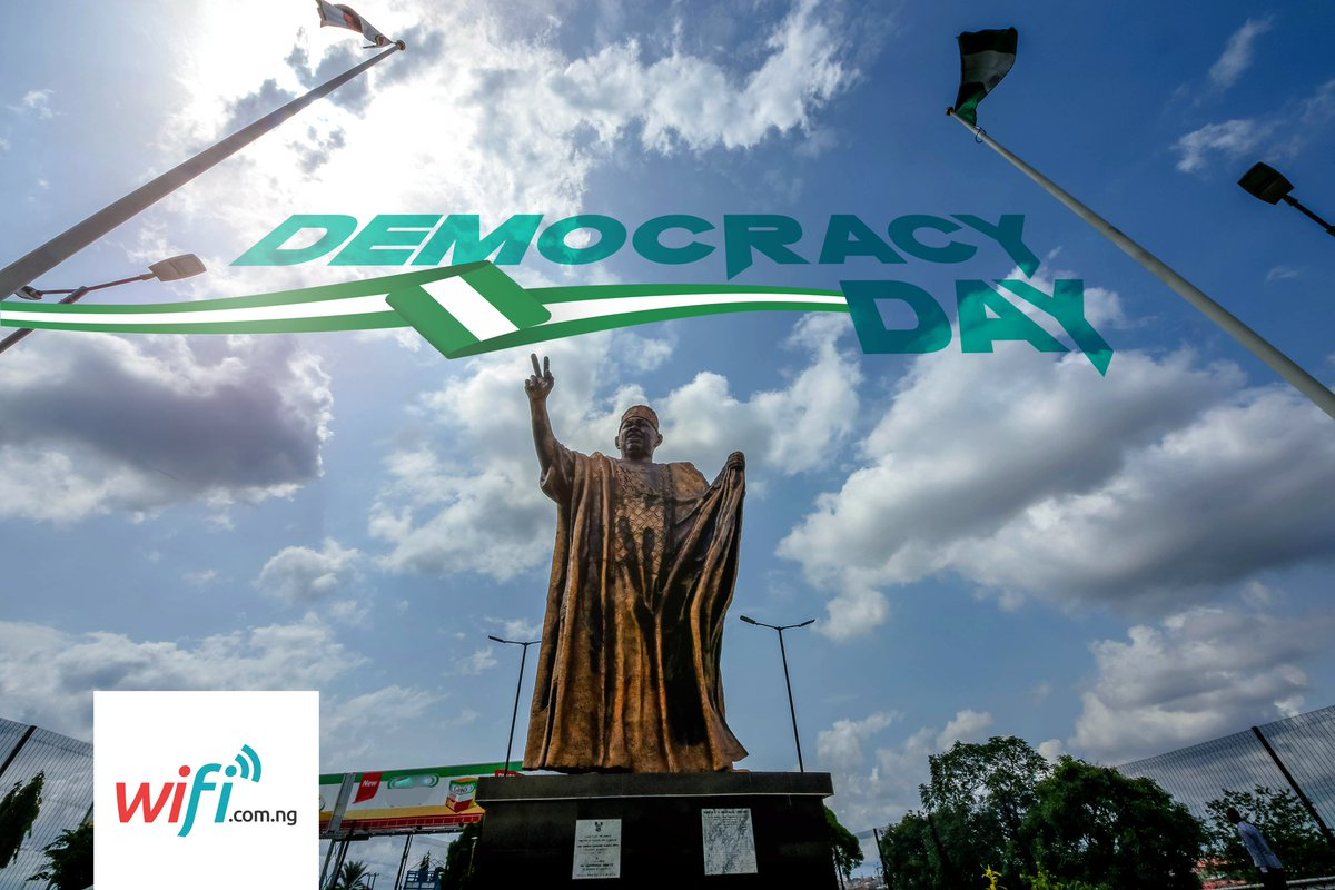 Happy Democracy Day.--------------------------------------#June12 #DemocracyDay #DemocracyAt20 MKO Abiola