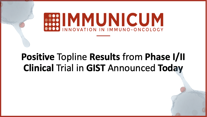 ICYMI: #immunooncology innovator, Immunicum, announced positive results from a Phase I/II clinical trial examining their off-the-shelf #celltherapy, ilixadencel, in combination w/ TKIs in patients w/ GIST. See @biospace's summary of the news here: https://t.co/4UAsC9TCVK