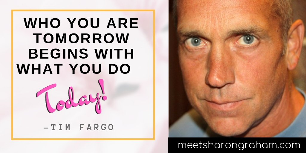 Who you are tomorrow begins with what you do today #timfargo #inspirationquotes #entrepreneurship<br>http://pic.twitter.com/KteH87PRpF