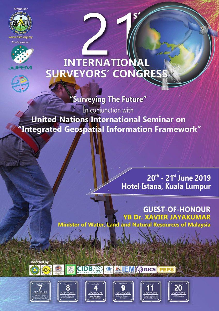 21st International Surveyors' Congress