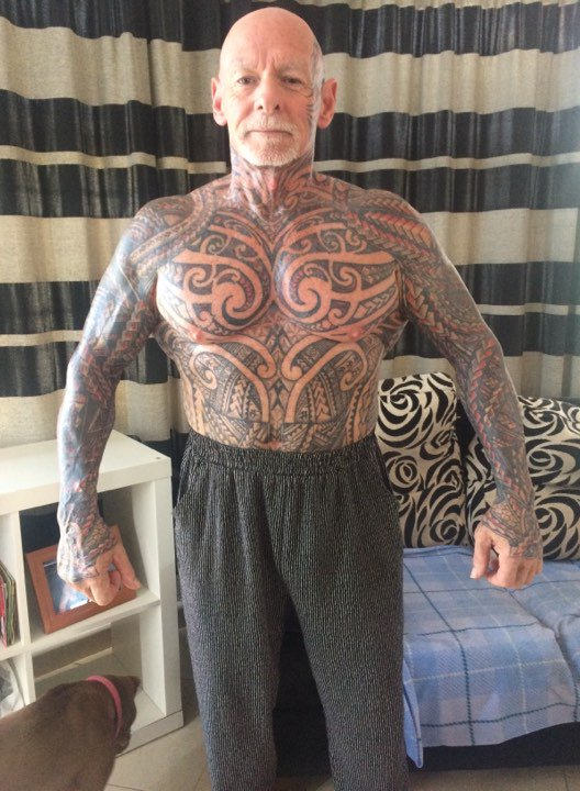 b52942154 ... #BODYBUILDER #Facetattoos #tattooedFace #Face #TattooedFeet #Feet  #muscle #Body #Building #gym #fit Ray Houghton Bodybuilder .pic.twitter.com/k5a2AqTkud