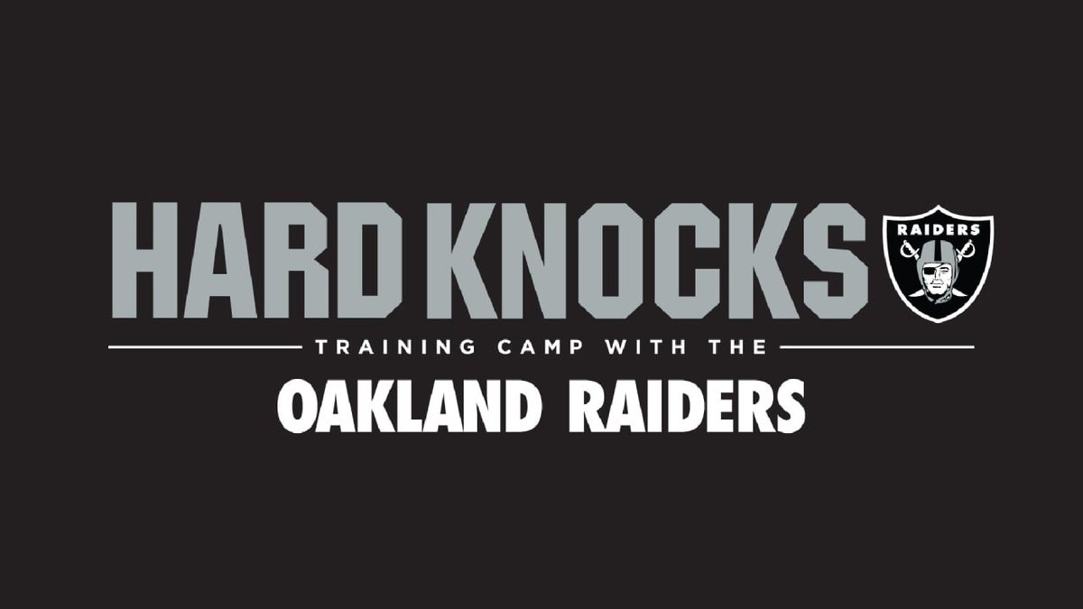 Hard Knocks 2019 GO #Raiders !!! #excited #RaiderNation  #HardKnocks #NFlying to #Oakland  #NFL #HBO #Televisionnaire  #6agosto #soloUnaVolta #WednesdayWisdom #wednesdaythoughts #iKON #Ιστορια #12giugno<br>http://pic.twitter.com/IyFeVg75xz