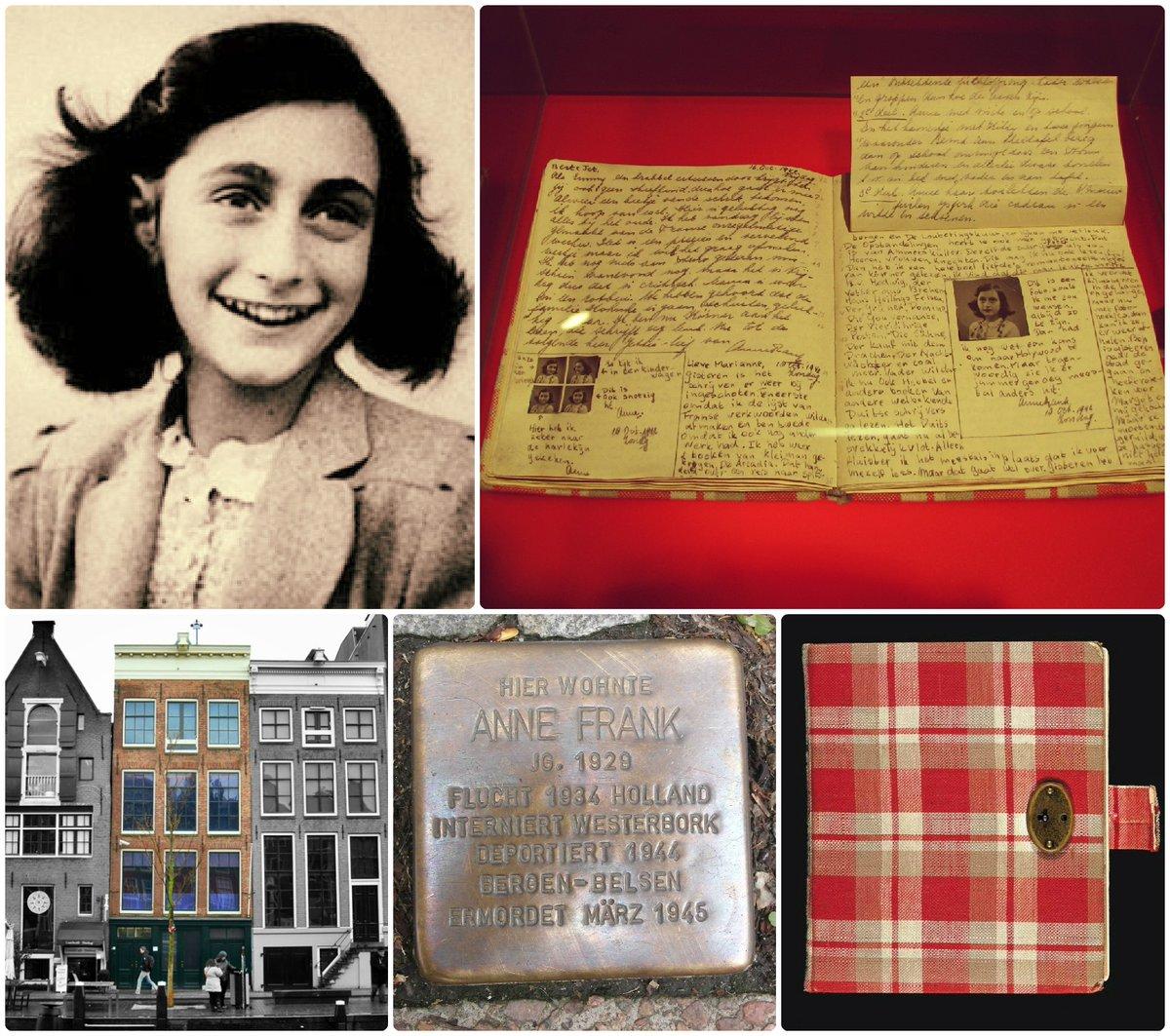 Ana Frank habría cumplido hoy 90 años. Fue justamente #UnDíaComoHoy, en 1942, cuando Ana comenzó a escribir su diario: un testimonio de coraje para toda la humanidad que jamás debemos olvidar. 📔 on.unesco.org/2KL0TeI #MemoriaDelMundo #Anne90