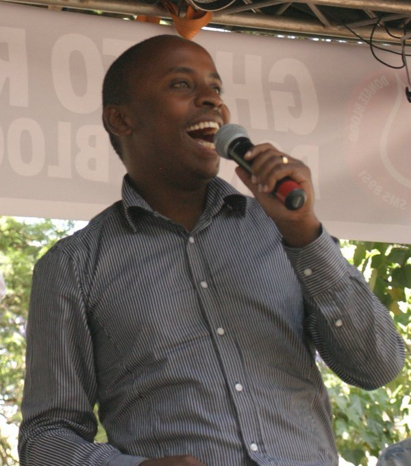 We have lived long enough to witness Dagoretti South Mp John Kiarie ( KJ ) act worse than the guy he mimicked JJ Kamotho   #DemocracyDay <br>http://pic.twitter.com/LShVPyLqqn