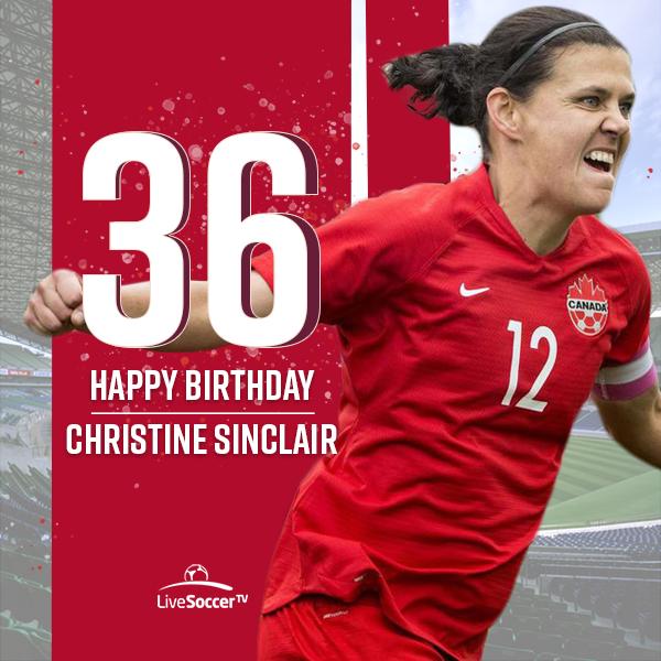 Happy birthday to Canada women\s national team icon Christine Sinclair