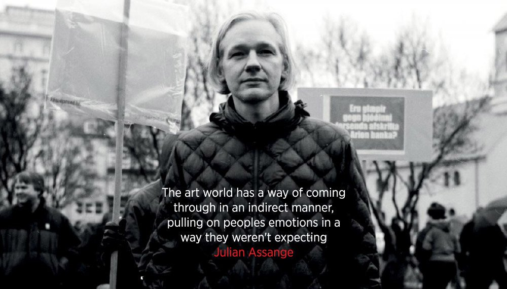 As long as Julian #Assange (WikiLeaks editor, journalist and 2019 Nobel Peace Prize Nominee) is incarcerated and unable to speak out or defend himself we will be Julian's voice. Let's all #AmplifyAssange by sharing his words: <br>http://pic.twitter.com/tpm6uROrxT
