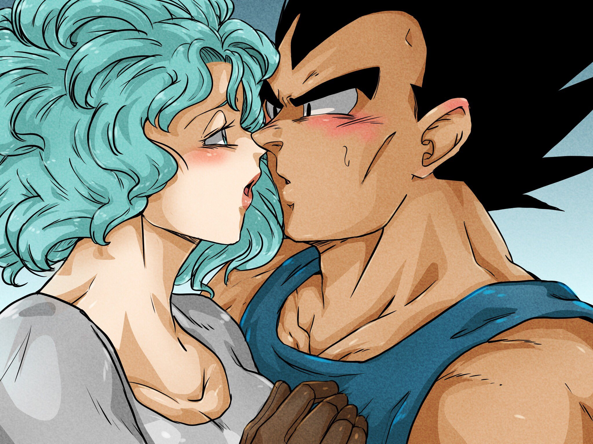"""BatViolett on Twitter: """"And Part 3 of Tension, or how I call it now: A  woman's weapons more to come asap :) #vegebul #vegebulday #69fes #vegeta # bulma #tension #dbz… https://t.co/cujpkRQzDs"""""""